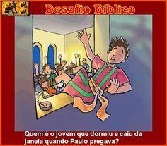 Resposta: Êutico - Atos dos Apóstolos 20:9