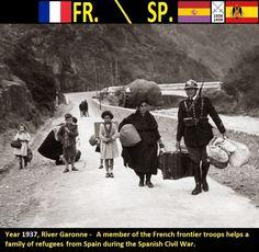 Confini amministrativi - Riigipiirid - Political borders - 国境 - 边界: 1937 ES-FR Hispaania-Prantsusmaa Spagna-Francia