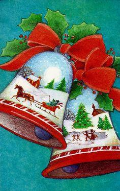 Holiday Bells....Beierende Kerst~klokken met het Kerstfeest~..............................~..lb xxx~