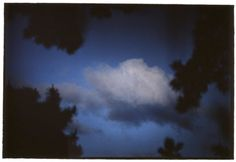 """bill henson creating the sky just the way it looks in your eyes/minds at certain """"moments"""". I love this image"""