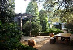 Hotels & Lodging: Hotel San José by Lake Flato - Remodelista Outdoor Rooms, Outdoor Gardens, Outdoor Living, Outdoor Decor, Hotel San Jose Austin, Landscape Design, Garden Design, Lake Flato, Backyard Paradise