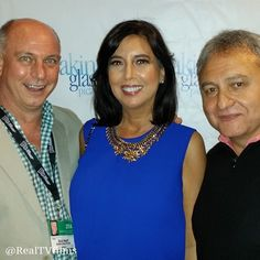 Richard Wolff, Susan Helfrich, Tony Romeo, Breaking Glass Pictures Mixer, Indyoh Lounge, AFM 2014