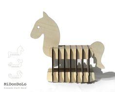 MiDonDolo   Cavallo a dondolo Collezione Listelli Alessandra Scarfò Design