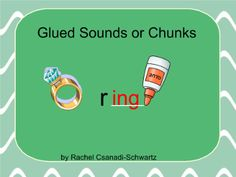 SMARTEE's in First : Phonics Lesson (ing, ang, ong, ung) Glued sounds Abc Phonics, Phonics Lessons, Phonics Words, Word Study, Word Work, 1st Grade Centers, First Grade Words, Wilson Reading, Word Families