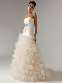 Inmaculada Garcia, bride, bridal, wedding, wedding gown, wedding dress
