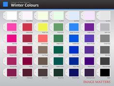 winter Color Palette   Colour Palette   Image Matters Asia