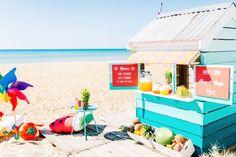 Summer beach box cubby house