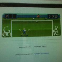 Describe tu pin...hoy en Google es futbol