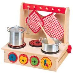 Kitchen Play Alex Toys Pretend & Wooden Cook Top 13 Toy Kids Gift Children New