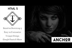 ANCHOR - One Page HTML5 Template @creativework247