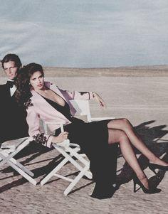 """Vogue US February 1979""""A World Apart""""Model: Gia CarangiPhotographer: Chris von Wangenheim"""