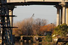 #caminito #riachuelo #puente #grua