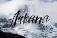 Arkana Script by Mau
