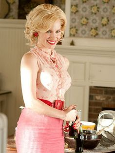 Love Jessica Chastain as Celia in The Help