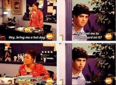 """Helen and Josh's work relationship. 