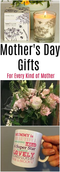All Mother's are different, and getting the perfect Mother's Day gift for your special Mum can be a challenge. Here's a great gift guide with present ideas for every kind of Mum there is.