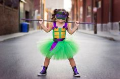 Pin for Later: 26 Princess-Free Halloween Costumes For Girls Teenage Mutant Ninja Turtle This Teenage Mutant Ninja Turtle costume ($40) may look cute, but it's anything but dainty.