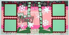 Christmas Elf Bring On The Mery Boy Girl by TheScrapbookEmporium, $10.00