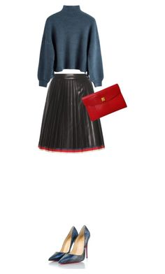 """Sans titre #267"" by fashianlover ❤ liked on Polyvore featuring Gucci, Christian Louboutin and Hermès"