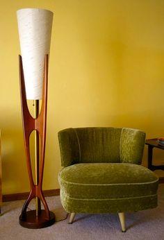 Interior design | decoration | home decor | Furniture | Gorgeous 5 FOOT Mid Century Modern Eames Era Floor Lamp | Etsy
