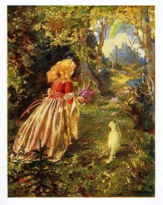 Madame De Ségur´s About Fairies, Princes and Princesses Illustrated by Jan Dědina. Published in Prague in 1914.