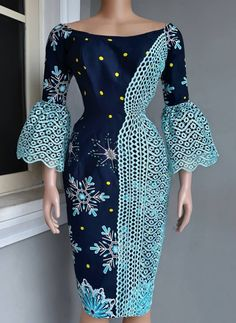 African Dresses Plus Size, African Formal Dress, Short African Dresses, Latest African Fashion Dresses, African Print Fashion, African Attire, Style Africain, African Print Skirt, Ankara Dress Styles