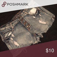 High waisted Jean shorts High waisted jean shorts Rue 21 Shorts Jean Shorts