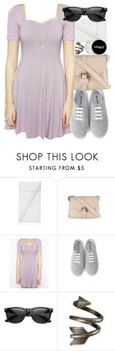 """""""Allison Inspired Outfit with a Lilac Dress"""" by veterization ❤ liked on Polyvore featuring Topshop, Ilundi, ASOS and Retrò"""