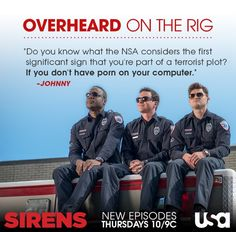 Sirens To Vent, Usa Network, Do You Know What, Executive Producer, Sirens, Comedy, Tv Shows, People, Mermaids