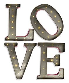 Check out the deal on LED Wall Art - 15 Inch Lighted Metal Letters - LOVE at Battery Operated Candles Marquee Letters, Light Letters, Metal Letters, Love Letters, Marquee Lights, String Lights, Love Ballons, Lampe Metal, Battery Operated Lights