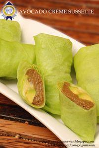 avocado creme sussete by yongki gunawan