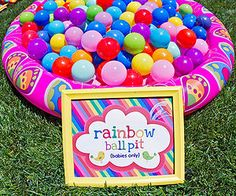 Use this rainbow-themed first birthday party guide to plan a colorful event for your little bird!