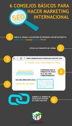 6 consejos para hacer marketing internacional #infografia