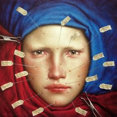"""Dino Valls """"Dino Valls is a Spanish painter born in 1959 in Zaragoza, presently living and working in Madrid. Spanish Painters, Spanish Artists, Arte Obscura, Art Graphique, Tempera, Figurative Art, The Darkest, Madrid, Contemporary Art"""