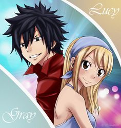 As I promised)))my third animation)it was fun))) Gray x Lucy anime|manga : Fairy tail program: Photoshop CS4