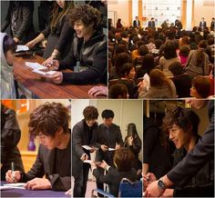 Kim Hyun Joong Signs Autographs for 2,000 Fans in Five Cities for Autograph Tour    Kim Hyun Joong has wrapped up a successful whirlwind autograph tour for his fans in Japan.  Beginning on December 21 through 23, for three days, Kim Hyun Joong made his way through five cities in Japan for his autograph tour beginning with Tokyo then Nagoya, Osaka, Hiroshima and finally, Fukuoka.