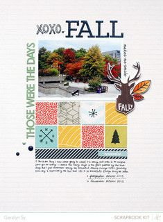 Fall by qingmei at @Studio_Calico #SCcuppa