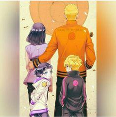 Naruto Gaiden Uzumaki Family