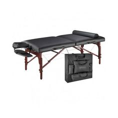 """Massage Table Deluxe Therma Package 31"""" w/Case Pad Cover Portable Warmer Plush"""
