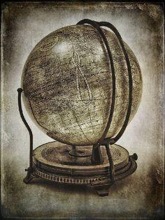 Old-timey globe
