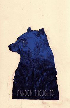 This is an illustration for a fictional book. basically I just wanted to draw a bear: )