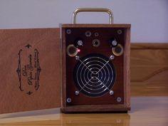 cigar box amp - Google Search Cigar Box Guitar, Music Guitar, Guitar Amp, Cool Guitar, Ukulele, Cigar Box Projects, Bass Amps, Cigar Boxes, Cigars