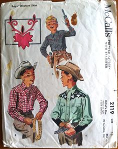 McCall's 2119 from 1956