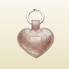 Gucci heart key ring