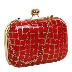 Lena Abstract Snakeskin Clutch Bag – BEL EPOQ Red Clutch, Clutch Purse, Coin Purse, Red Handbag, Red Plaid, Bag Sale, Evening Bags, Snake Skin, Shoulder Bag