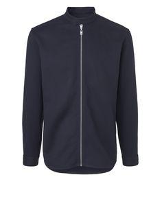 Lanes Shirt, Black Iris | Won Hundred