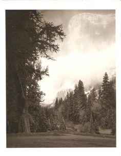 Half Dome, Yosemite.  Ansel Adams