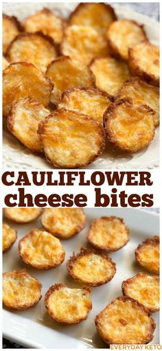 Cauliflower Bites are a tasty Keto snack! Cauliflower Cheese Bites These Cauliflower Bites are the easiest and tastiest Keto or low carb snack!These Cauliflower Bites are the easiest and tastiest Keto or low carb snack! Aperitivos Keto, Comida Keto, Cauliflower Bites, Cauliflower Cheese, Cauliflower Low Carb Recipes, Cauliflower Side Dish, Low Carb Side Dishes, Low Carb Appetizers, Cheese Bites