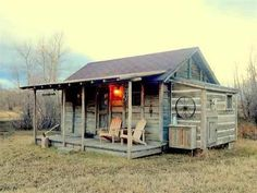 Are you looking for a unique small cabin that is already built? This hand hewn historic cabin may b . Old Cabins, Tiny Cabins, Tiny House Cabin, Log Cabin Homes, Cabins And Cottages, My House, Small Log Cabin, Small Cottages, Rustic Cabins