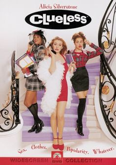 Directed by Amy Heckerling.  With Alicia Silverstone, Stacey Dash, Brittany Murphy, Paul Rudd. A rich high school student tries to boost a new pupil's popularity, but reckons without affairs of the heart getting in the way.